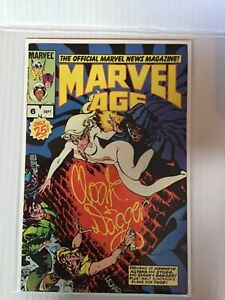 MARVEL AGE # 6 FIRST PREVIEW OF BETA RAY BILL FIRST PRINT MARVEL COMICS