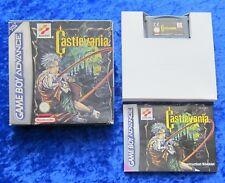 CastleVania, GBA GameBoy Advance Spiel, OVP Anleitung