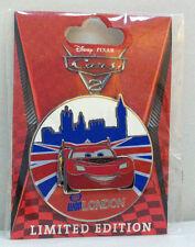 Disney DSF Cars Land Lightning McQueen Cars 2 London LE 300 New on Original Card