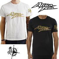 T-Shirt Honda Africa Twin Moto maglietta 100% cotone Premium