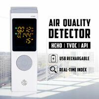 Luftqualität Messgerät Air Detector AQI TVOC HCHO Haus USB Luft Detektor Sensor