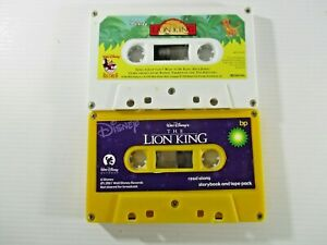 Disney The Lion King Audio Tape Book and Disney Lion King Music Tape.Tapes Only