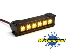 Gear Head RC 1/10 Scale Six Shooter Water Proof LED Light Bar Yellow GEA1163