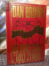 New Sealed The Da Vinci Code & Lost Symbol Dan Brown Bonded Leather Hardcover