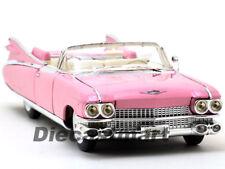 Maisto 1:18 1959 Cadillac Eldorado Biarritz Convertible de Metal Rosa