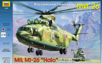 MIL Mi-26 HALO (RUSSIAN/SOVIET & UNITED NATIONS MKGS) #7270 1/72 ZVEZDA