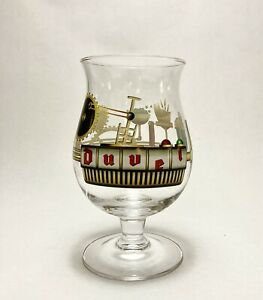 """DUVEL Collectible Beer Glass """"The Gilded Age of Beer"""" by Jono, Limited Edition"""
