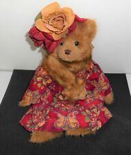 "Bearington Bear 14"" Jointed Legs Vintage Teddy Bear Plush 1900 Period Attire"