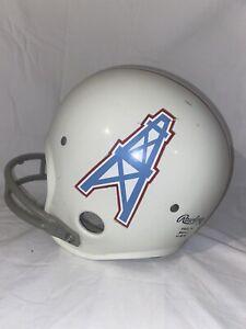 Vintage 1975-1980 Houston Oilers Helmet Football Rawlings HNFL-N Youth Size Sm