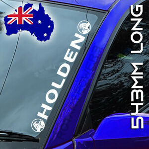 Holden windscreen sticker decal in vinyl CAR ute 4x4 HSV - 543mm - WHITE