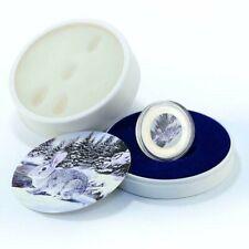 2011 Pitcairn Islands $2 Lunar Rabbit 1 oz .999 Silver Coin (Paw Print Box)