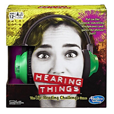 Hearing Things Game Board Lip Reading Challenge Family Holiday Adults Teens Gift