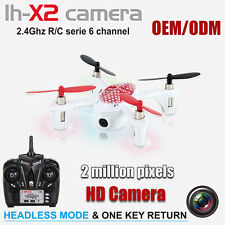 LH-X2 Headless Mode GYRO RC 2.4G Mini 6Axis 6 CH Quad Copter w/ Camera