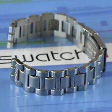 Swatch Stainless Steel 17 mm SS Replacement Strap Band Happy Joe