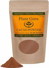 Raw Cacao / Cocoa Powder 100% Pure Kosher 1 lb. Chocolate Arriba Nacional Bean
