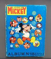 Album Le journal de Mickey n°15 du n°342 à 359. Walt Disney après guerre