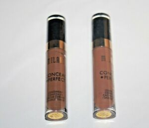 MILANI Conceal + Perfect LongWear Concealer #180 + #185 Lot Of 2 Sealed