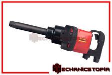 "Commercial Truck 1"" Super Heavy Duty Long Shank Air Impact Wrench Gun Tool"