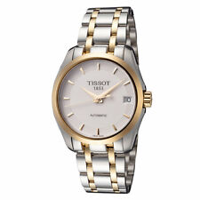 Tissot Women's T0352072201100 Couturier 32mm White Dial Stainless Steel Watch