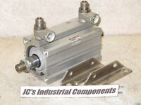 SMC   50 MM  bore  X  75 MM  stroke   pneumatic cylinder    NCDQ2L50-75DM