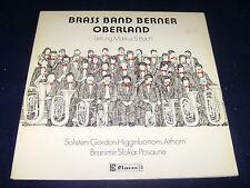BRASS BAND BERNER OBERLAND Gordon Higginbottom Althorn Branimir Slokar LP Vinyl