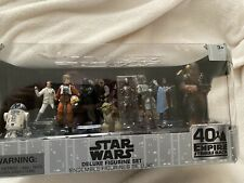 Star Wars Empire Strikes Back  40th anniversary Nine Deluxe Figurine Set