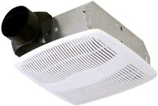 50 CFM Bathroom Exhaust Fan Ceiling Mounted Bath Ventilation Vent Wall Mount