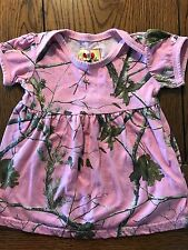 *LIL' JOEY* Girls Pink Camo Camouflage Dress Size 6-12 Months