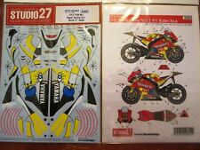 DECAL: 1/12 S27851 2005 TEAM TECH3 YAMAHA YZR-M1 #11