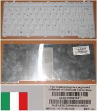 TASTIERA QWERTY ITALIANA TOSHIBA U400 M800 9J.N7482.G0E DAFAEBU2I00030 Bianco