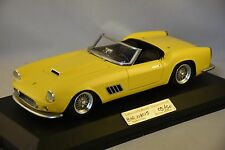 MG MODEL BER118015 - Ferrari 250 GT LWB spyder barchetta 118015 route jaune 1/18