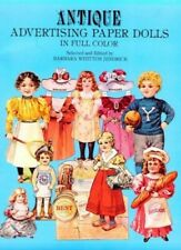 Antique Advertising Paper Dolls in Full Colour Other printed item Book The Fast