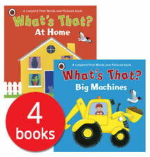 What's That? Ladybird First Words and Pictures Collection - 4 Books