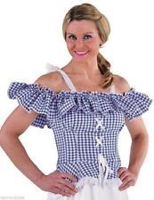 Bluse Carmenkostüm Damen Trachten Dirndel Dirndl Cowgirl Spanierin Saloon Kleid