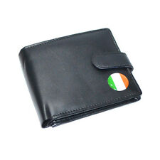 Irish Flag Leather Wallet National Ireland Tricolour Birthday Present Gift