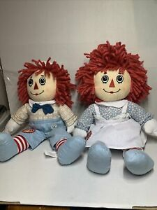 Raggedy Ann and Andy 95th Anniversary Rag Doll by Applause 2010 (2-103)