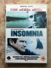 INSOMNIA [DVD UK] Christopher Nolan Al Pacino Robin Williams Hilary Swank