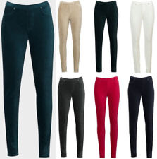 Corduroy Regular Size Stretch Trousers for Women