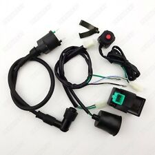 Wiring Loom Harness Kill Switch Ignition Coil CDI For 50cc - 160cc Pit Dirt Bike