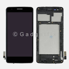 USA LG Aristo M210 MS210 LV3 K8 2017 Touch Screen Digitizer LCD Display + Frame