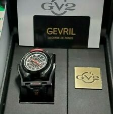 Triton GV2 By Gevril Mo 3401 Automatic Swiss Made Limited Edition Black Watch