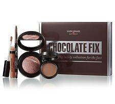 Laura Geller Chocolate Fix-Full Size Blush, Eye Shadow, Eyeliner & Lip Gloss-NIB