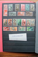 LOT STAMPS COLONIES SPAIN TOPICAL CRAFTS SPORT MNH** (coC)