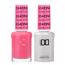 DND Daisy Duo Gel W/ matching nail polish lacquer - CANDY CRUSH - 554