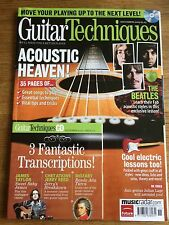 Guitar Techniques magazine & CD: November 2009