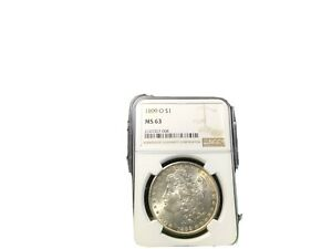 1899 0  MORGAN SILVER DOLLAR - MS 63 -NGC