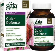 Quick Defense, Gaia Herbs, 40 capsule