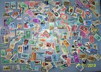 United States Stamp Lot Over 200 Stamps As Pictured Used Canceled