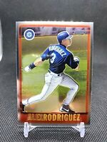 RARE 2005 TOPPS CHROME REFRACTOR SP AROD ALEX RODRIGUEZ! SEATTLE MARINERS STAR