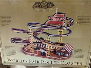 Mr. Christmas Gold Label World's Fair Roller Coaster - See Description